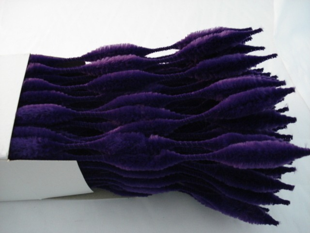 Chenille Bumps 15mm; Purple