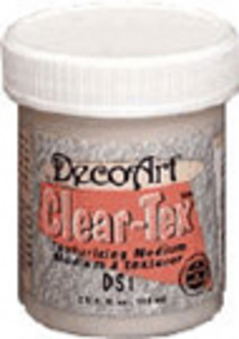 DecoArt Clear-Tex 4oz