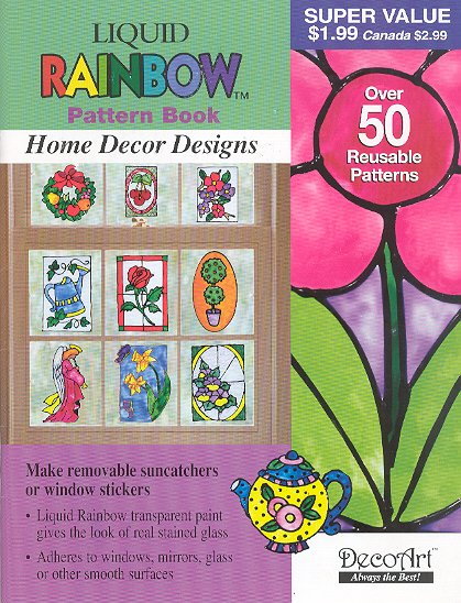 Liquid Rainbow Pattern Book: Home Décor Designs