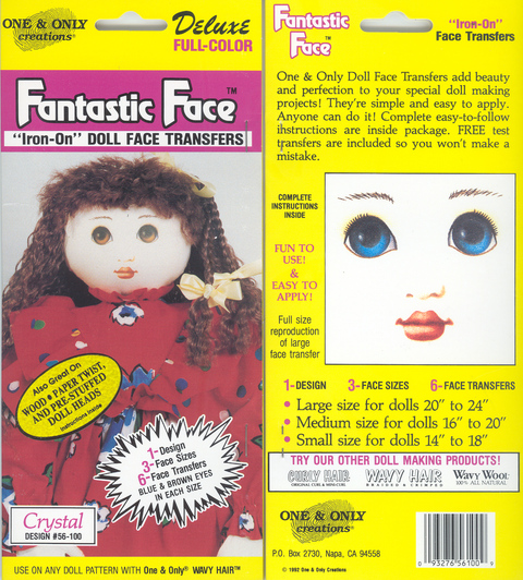 Fantastic Face Crystal 56-100