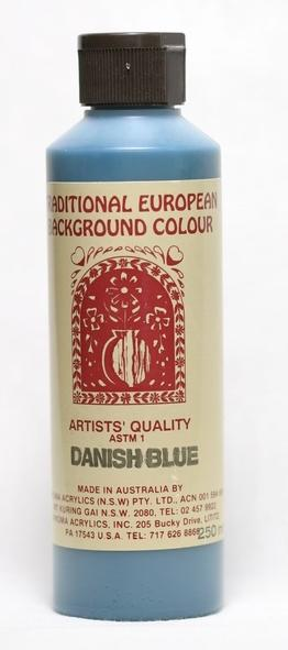 Jo Sonja Background Danish Blue 250ml