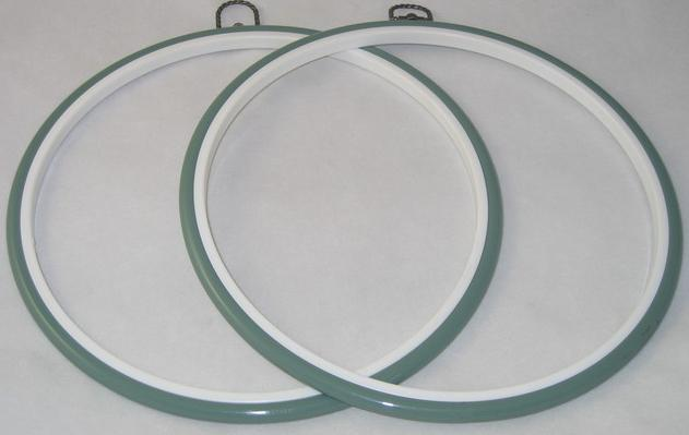Flexi Hoop Round 10in; Fern 1p