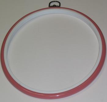 Flexi Hoop Round 10in; Pink 1p