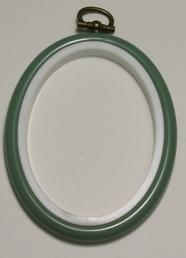 Flexi Hoop Oval 2x3in; Fern 1p