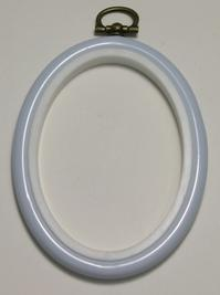 Flexi Hoop Oval 2x3in; L Blue 1p