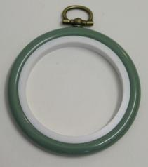 Flexi Hoop Round 2.5in; Fern 1p