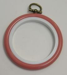 Flexi Hoop Round 2.5in; Pink 1p