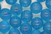 8mm Czech Round Bead; Transparent Blue 100 grams