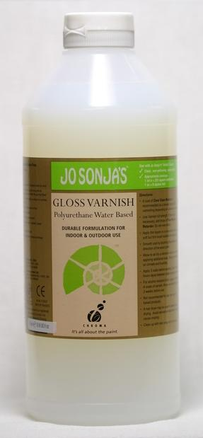 Jo Sonja Poly Gloss Varnish 1 Lt