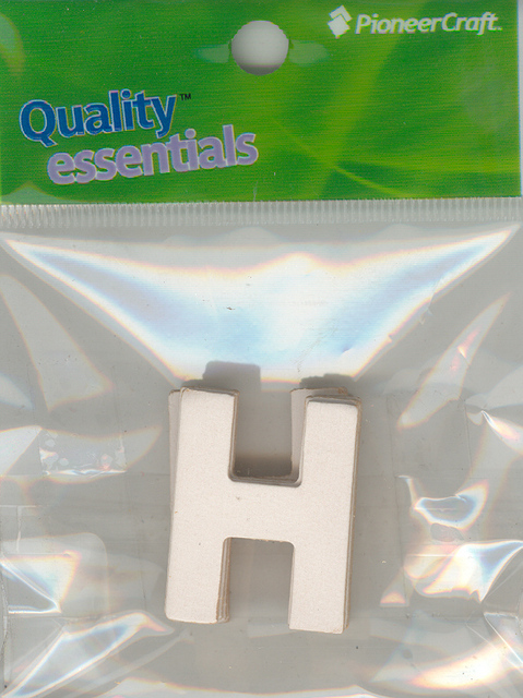 Set Small Alphabet (H)10 piece