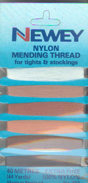 Nylon Mending Thread 6 colours
