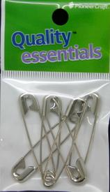45mm Safety Pins Nickel