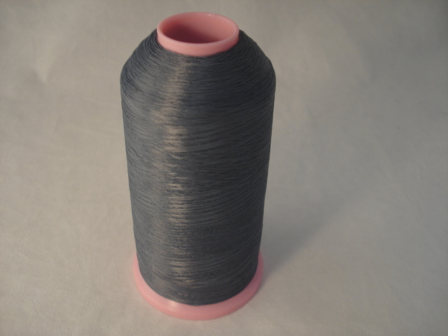 10000m Thread Over Locking 100% Polyester Lt Grey
