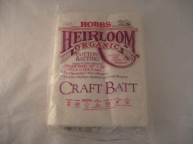 Hobbs Scrim 100/% Natural Cotton with Scrim Heirloom Premium Craft 36 x 45 Inches