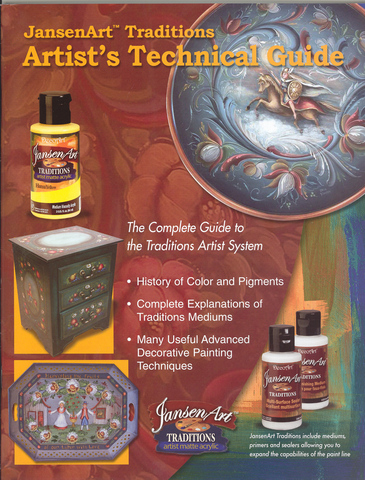 JansenArt Traditions. Artists Technical Guide