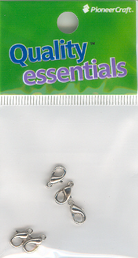 Lobster Clasp 10mm Nickel 5p (hang sell)