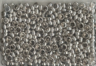 Spacer Beads 6mm Nickel 100p