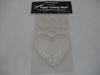 Paper Mould Large Puffy Heart