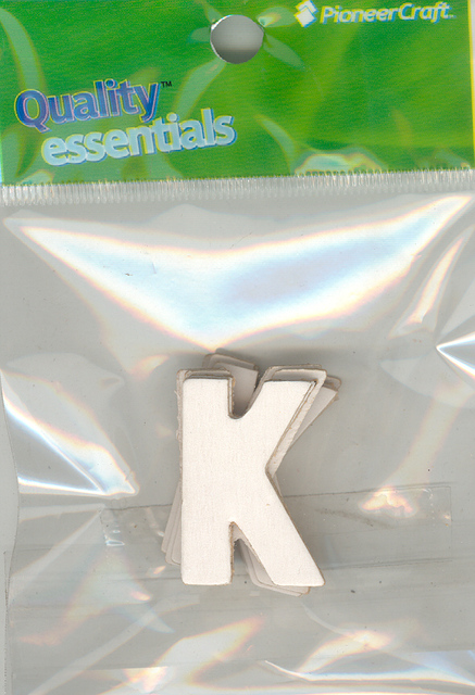 Set Small Alphabet (K)10 piece
