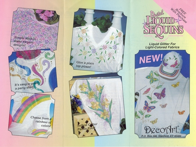 DecoArt Liquid Sequins Sampler 18