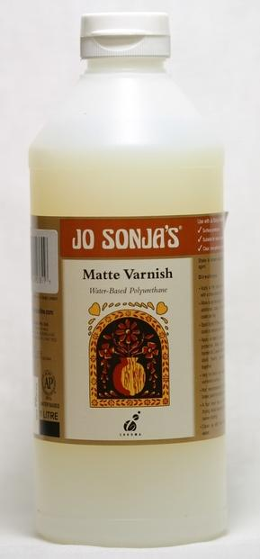 Jo Sonja Poly Matt Varnish 1 Lt