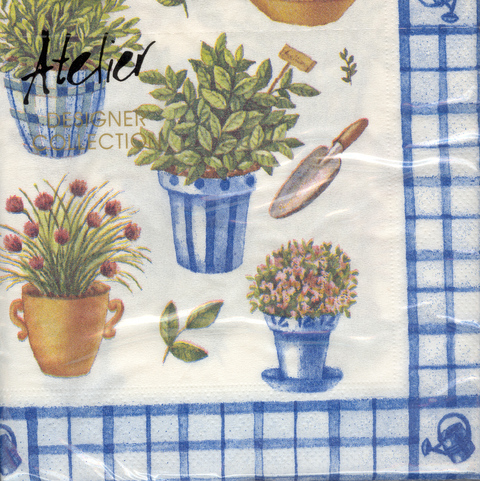 DecoArt Decor Napkin Herbal Feast. 20p.