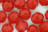 8mm Facet Opaque; Red 250g (approx 975p)