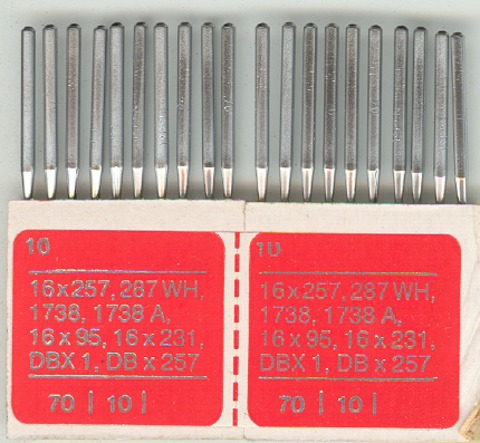 Overlocking Needles 70 (pack x20)