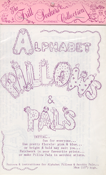 Alphabet Pillows & Pals