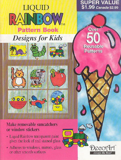 Liquid Rainbow Pattern Book: Designs for Kids