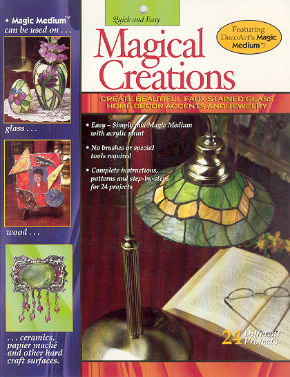 Magical Creations: Create Beautiful Faux Stained Glass, Home Déc