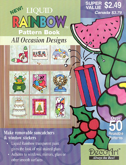 Liquid Rainbow Pattern Book: All Occasions Book