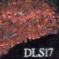 DecoArt Liquid Sequins 2oz Autumn Flame