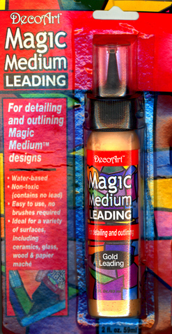 DecoArt Magic Medium Gold Leading 2oz