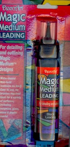 DecoArt Magic Medium Black Leading 2oz