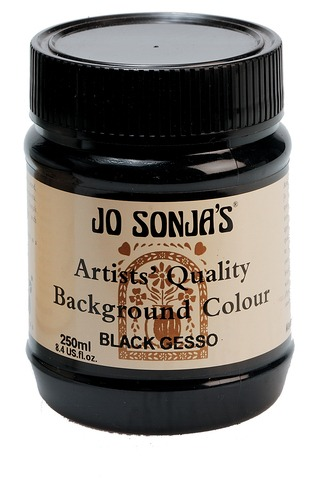 Jo Sonja Gesso Black 250ml