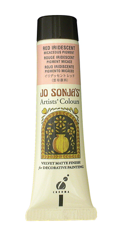 Jo Sonja Iridescent Micaceous Pigment Red 60ml