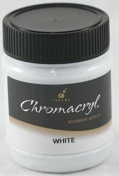 Chromacryl 250ml White