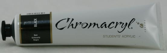 Chromacryl 75ml Black