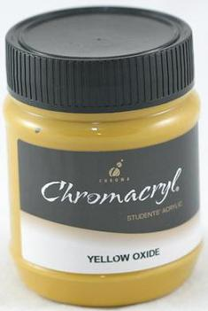 Chromacryl 250ml Yellow Oxide