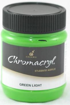 Chromacryl 250ml Green Light