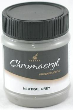 Chromacryl 250ml Neutral Grey