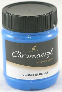Chromacryl 250ml Cobalt Blue