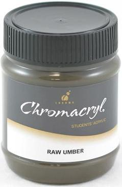 Chromacryl 250ml Raw Umber