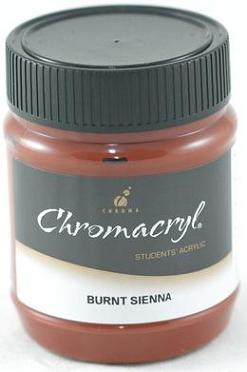 Chromacryl 250ml Burnt Sienna