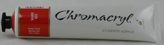 Chromacryl 75ml Warm Red