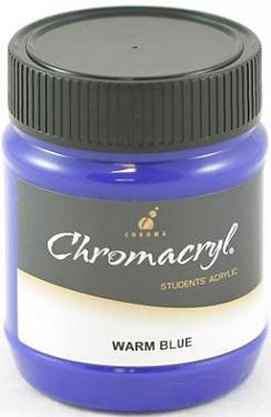Chromacryl 250ml Warm Blue