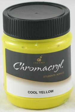 Chromacryl 250ml Cool Yellow