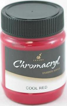 Chromacryl 250ml Cool Red