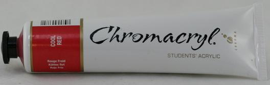 Chromacryl 75ml Cool Red